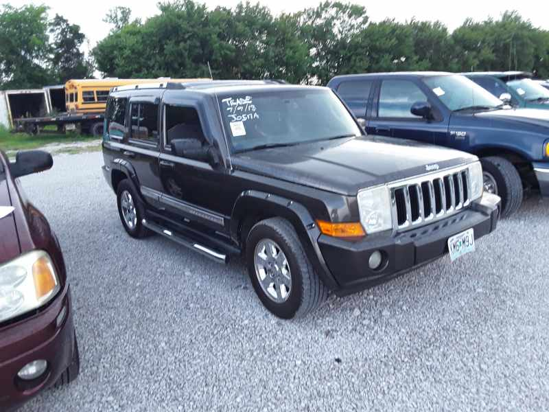 2006 Jeep Commander Limited 2wd: 2006 JEEP COMMANDER 4DR LIMITED 2WD MIAMI OK